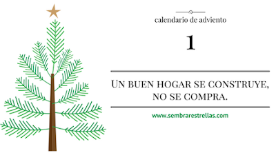 calendario de adviento, navidad, familia, chrismas, diciembre, fraces positivas