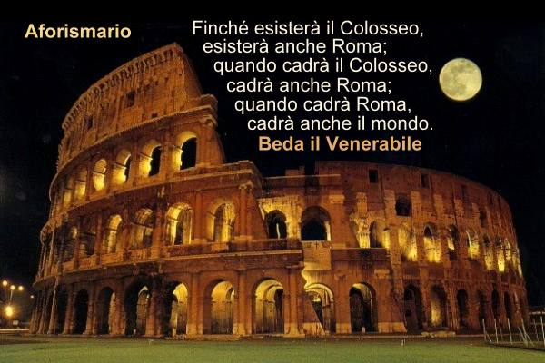 Aforismario Aforismi Frasi E Citazioni Sul Colosseo