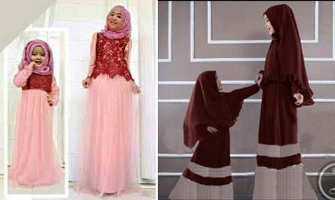 Model Baju Gamis Ibu Dan Anak Perempuan 2016