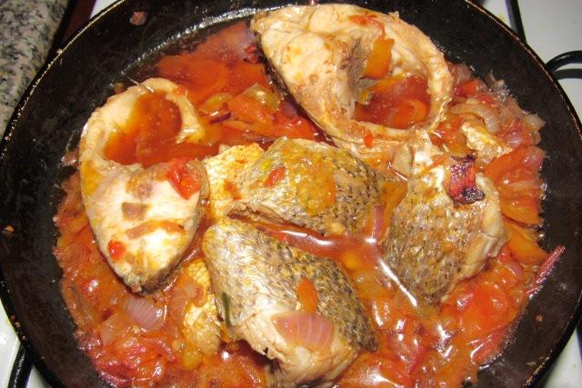 Nigerian tomato fish stew