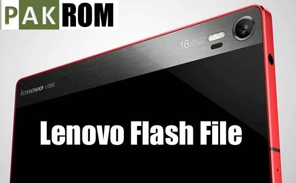 Lenovo A1000 Flash File - PAK ROM