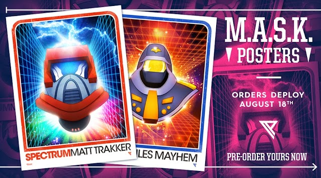 Paul's M.A.S.K. Posters Are Back! Order Now!