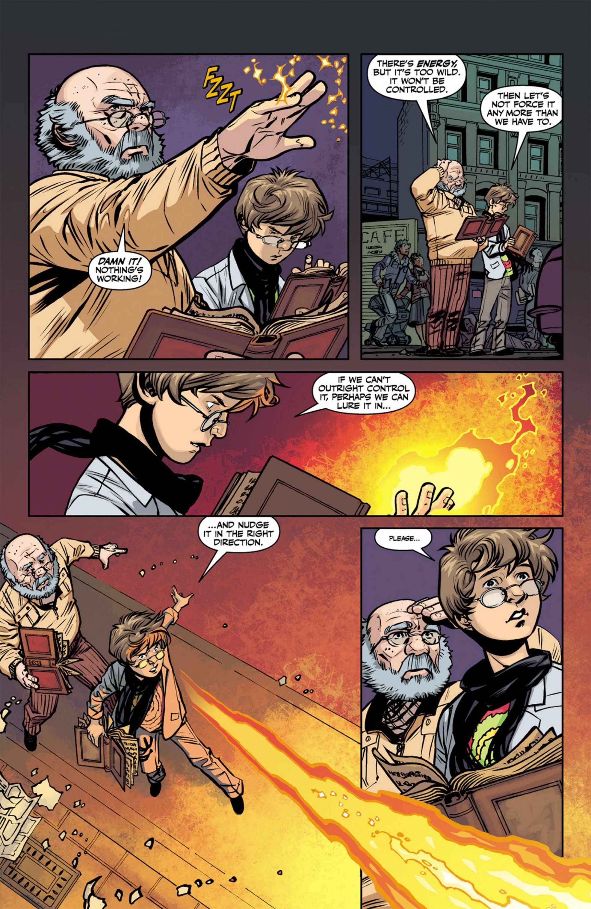 Read online Angel and Faith comic -  Issue #23 - 22