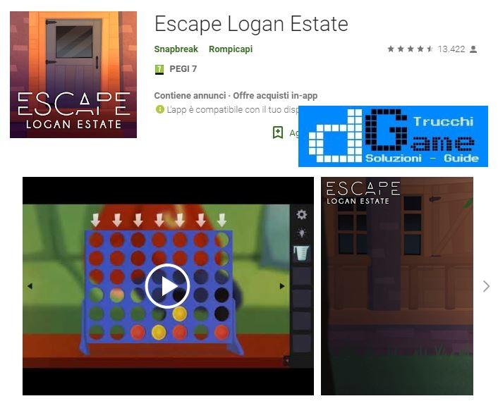 Soluzioni Escape Logan Estate di tutti i livelli | Walkthrough guide