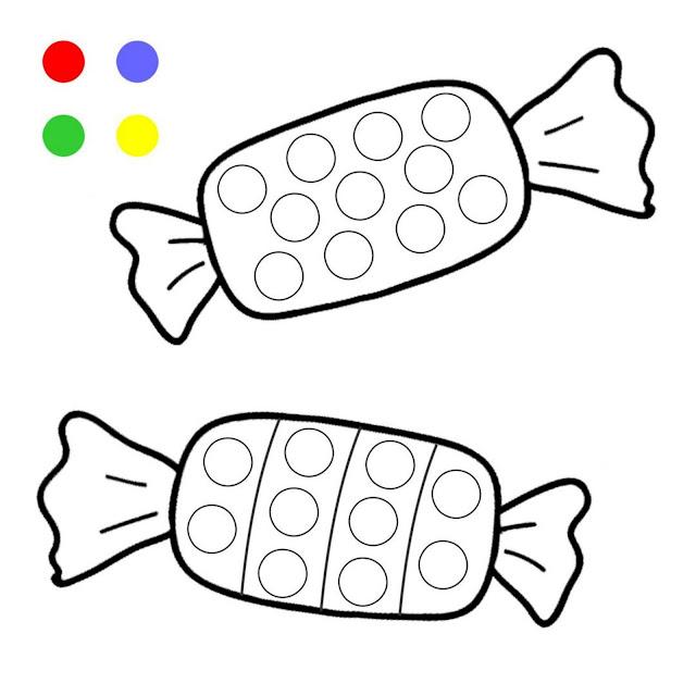 Pintando com os Dedos