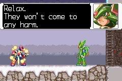 Corona Jumper: Mega Man Zero 3 (Game Boy Advance, 2004)