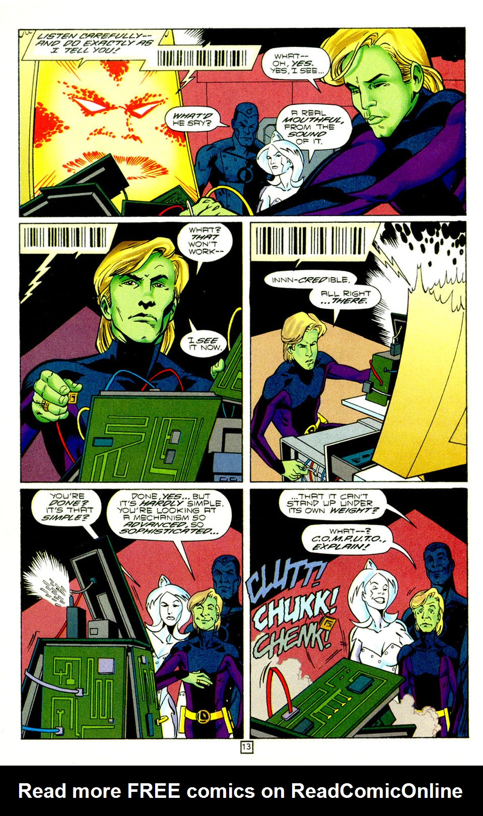 Legion of Super-Heroes (1989) 98 Page 13