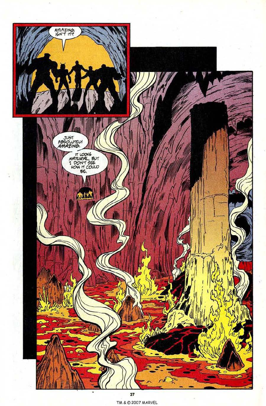 Read online Silver Surfer (1987) comic -  Issue #96 - 29