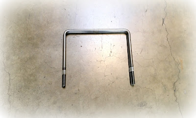 Custom Square Steel U Bolts - 5/8 X 12-11/16 In CD-C1018 Steel Material With No Finish