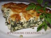 Спаначена запеканка с извара * Pasticcio di spinaci e ricotta