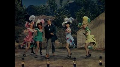 Billete a Tomahawk - Marilyn Monroe - con las chicas del espectáculo de baile
