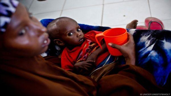Unicef: Hay 22 millones de menores en peligro en África y Yemen