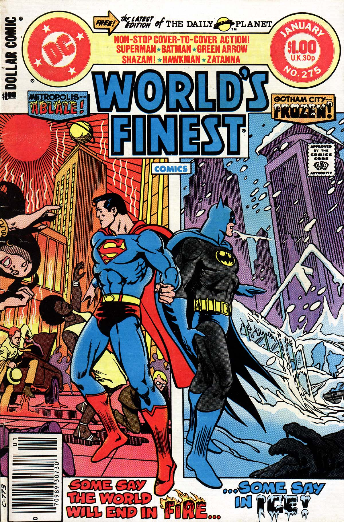 Read online World's Finest Comics comic -  Issue #275 - 1