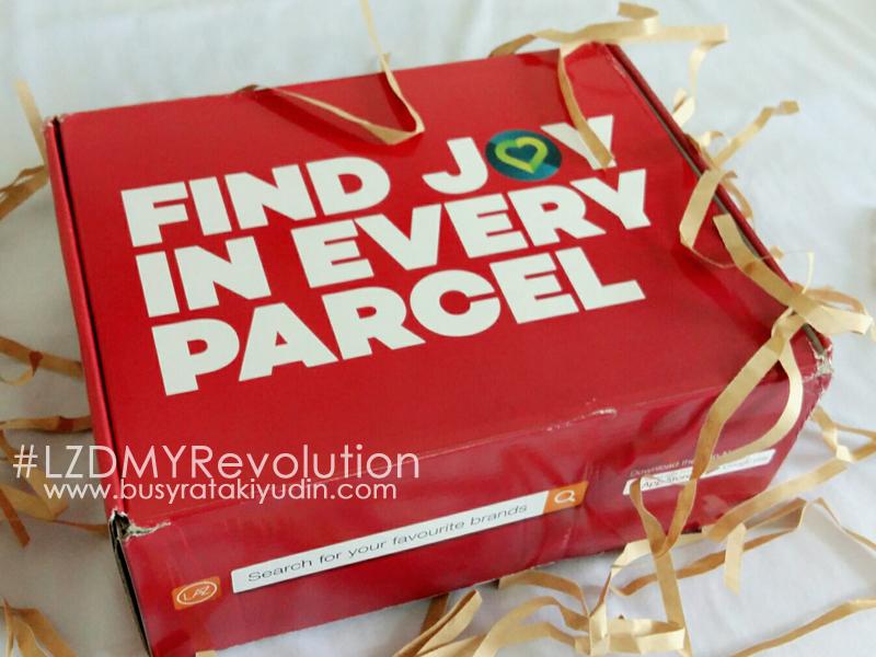 Box of Joy LAZADA Online Revolution 2016 | Brands For All