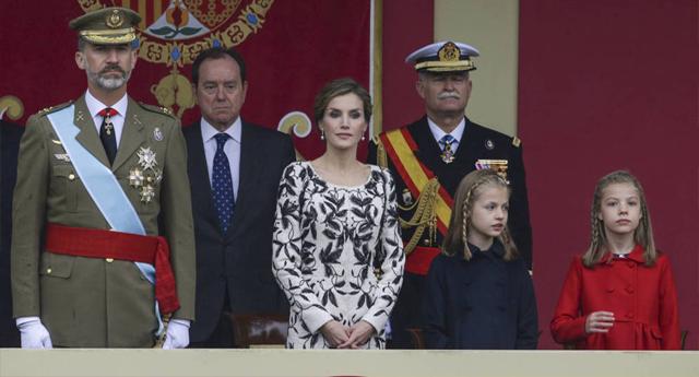 El desfile del 12 de octubre costó 669.480 euros