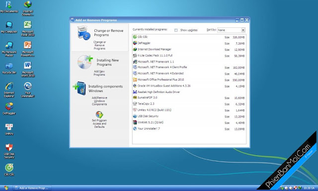 Ghost Windows XP SP3 Luxury Full (Soft + + Sata Driver) Version 6