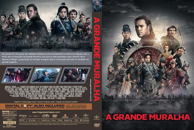 Capa DVD A Grande Muralha [Exclusiva]