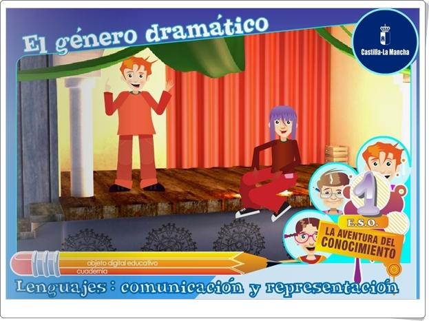 """""""El género dramático"""" (Lengua Castellana y Literatura de 1º de Secundaria)"""