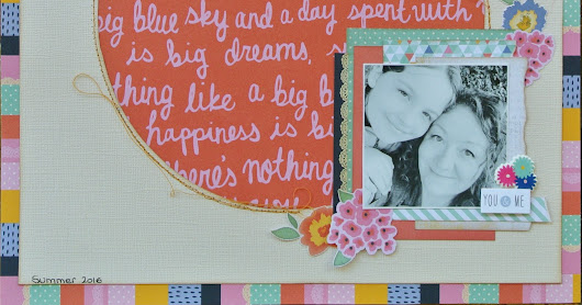 "Layout ""Love is a million colors"""