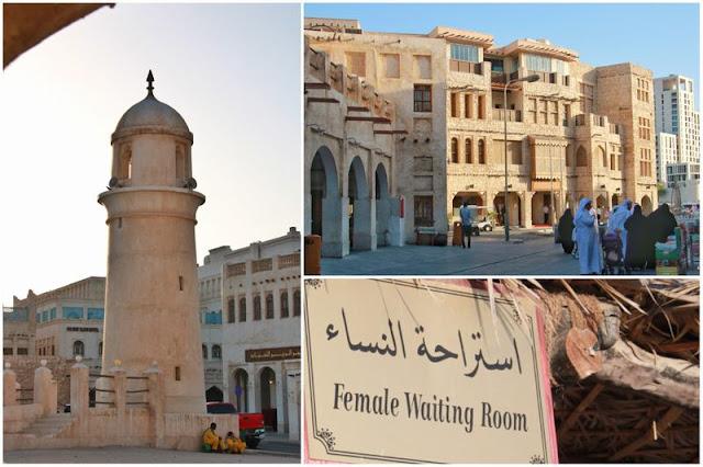 Zoco Waqif y alrededores en Doha, Qatar