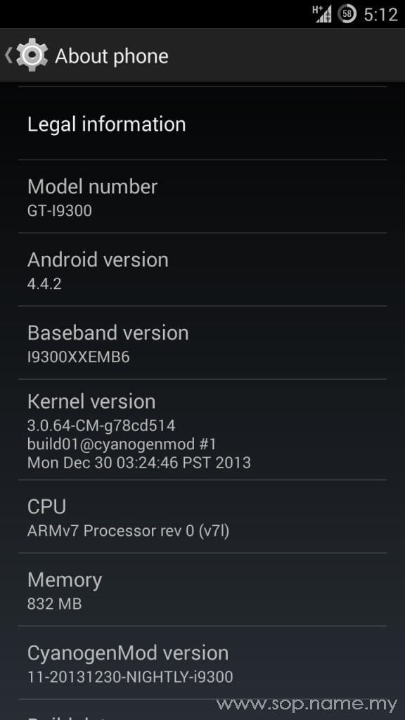 Update Galaxy S3 dengan Android KitKat 4.4