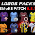 Logos 2D & 3D for Smoke Patch 8.5.1 | Pes2016 Pc