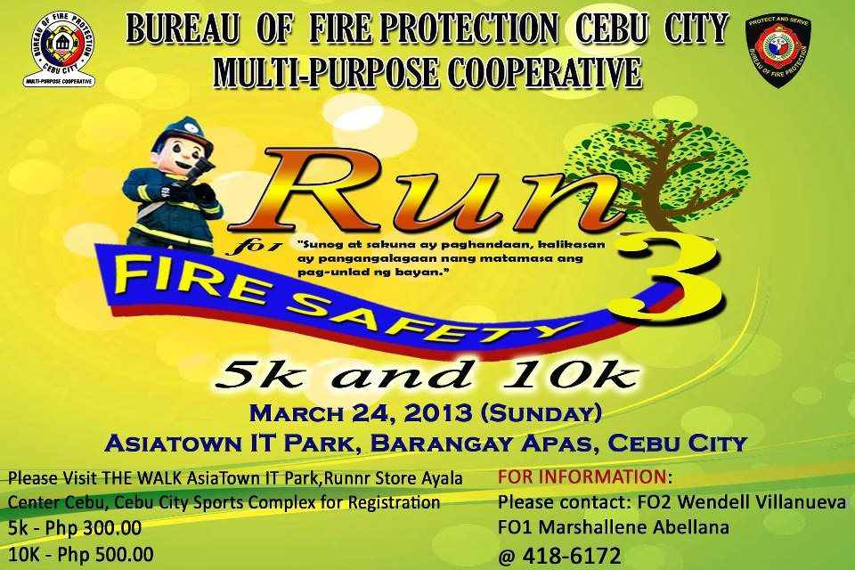Malipayong Runner: RUN FOR FIRE SAFETY 3