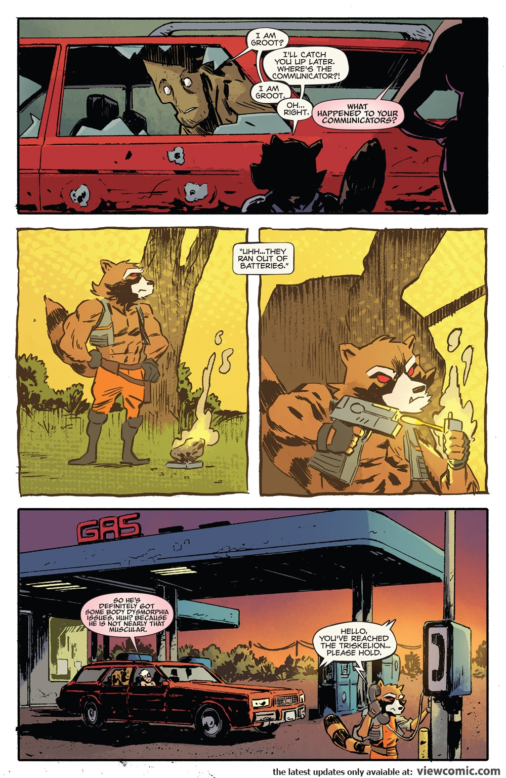 Rocket Raccoon and Groot 010 (2016)    Vietcomic.net reading comics online for free