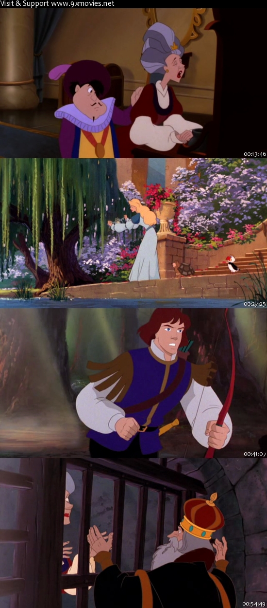 The Swan Princess Escape From Castle Mountain 1997 Dual Audio Hindi 480p DVDRip