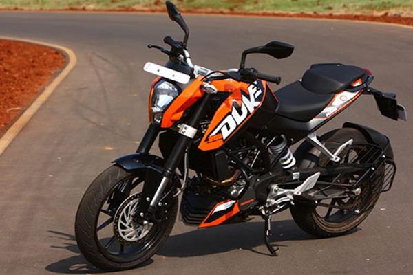 Bikerspoint: KTM DUKE 200