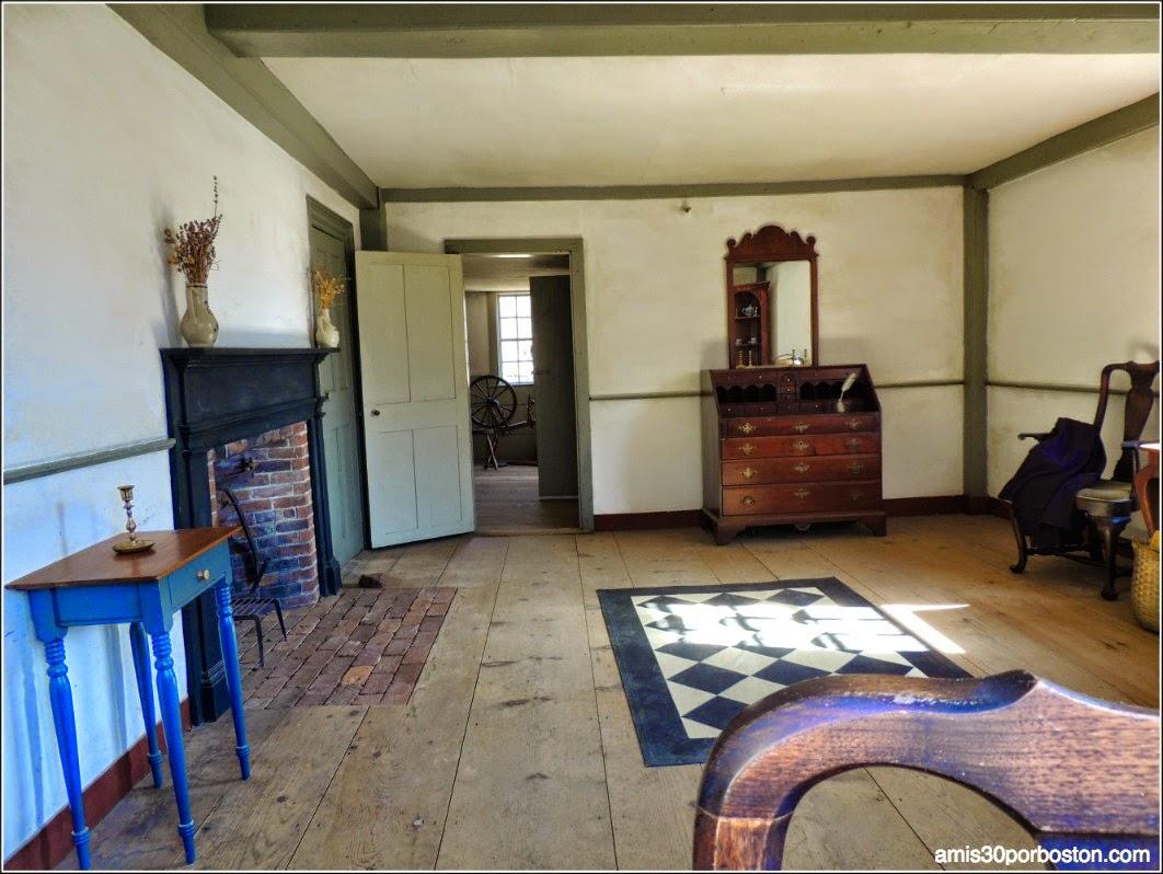 Interior de la Hartwell Tavern, Lincoln