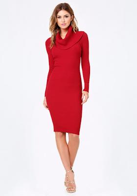 ideas de Vestidos de Noche Rojos