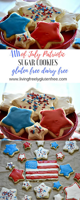 4th of july cookie pin