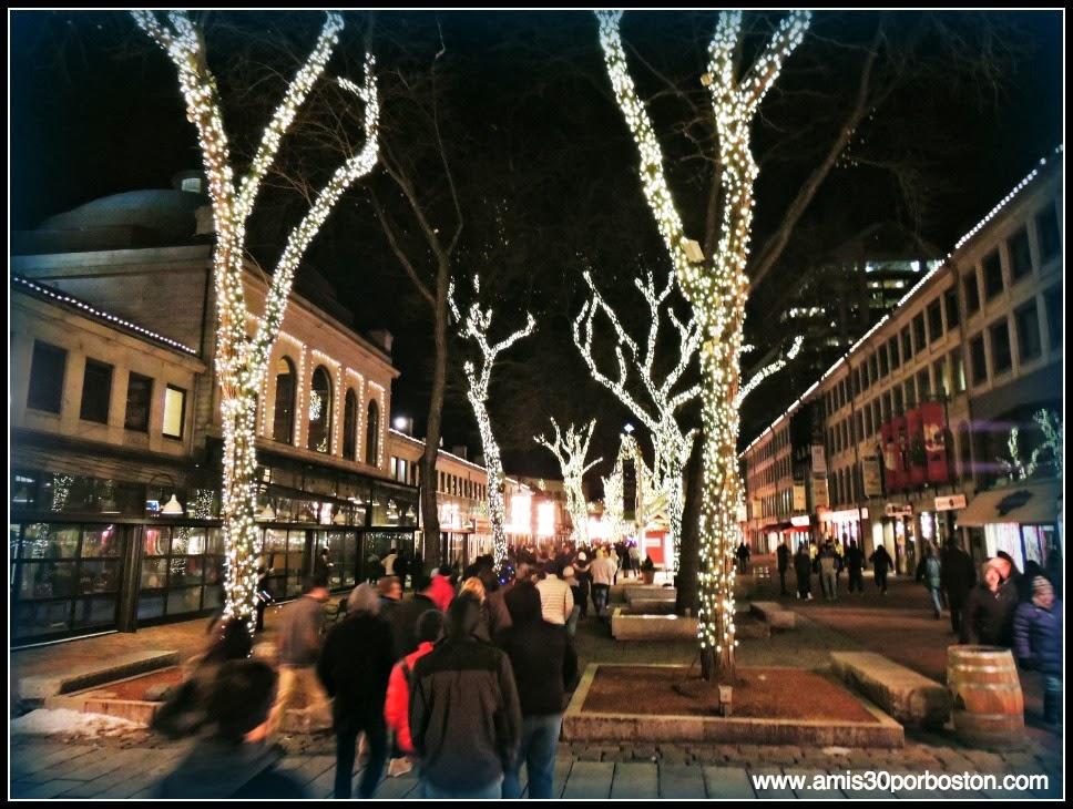Faneuil Hall Marketplace en Navidad