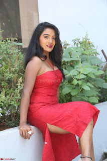 Mamatha sizzles in red Gown at Katrina Karina Madhyalo Kamal Haasan movie Launch event 017.JPG
