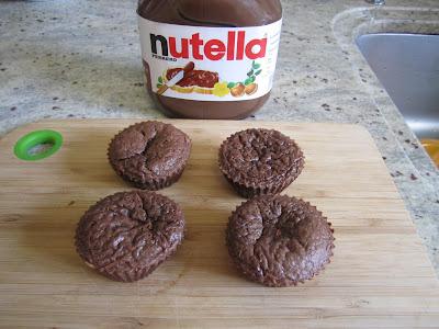minis gâteaux Nutella, 3 ingrédients
