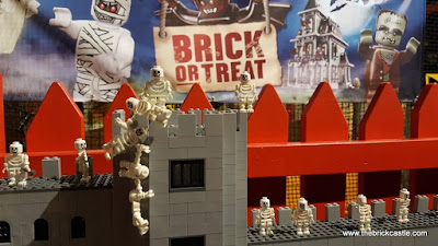 LEGOLAND DIscovery Centre Trafford Centre Manchester Brick Or Treat castles