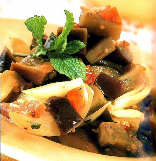Celtnet Recipes Blog: Sweet and Sour Eggplant Recipe