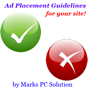 Guidelines for Placing Ads on Websites/ Blogs
