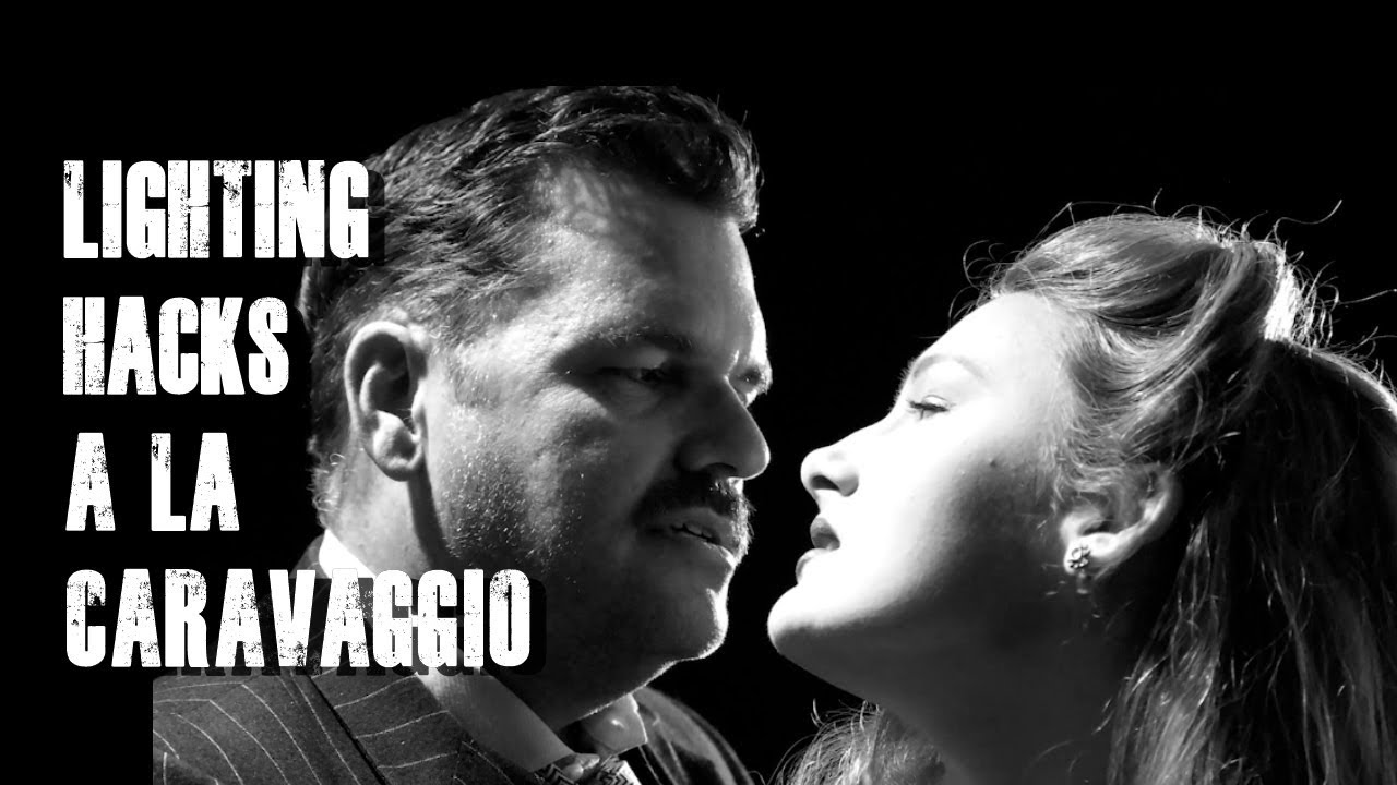 4 Dramatic Lighting Setups like Carravaggio