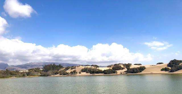 damazprowincji.blogspot.com, wydmy, gran canaria, wyspy kanaryjskie