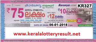 KERALA LOTTERY, kl result yesterday,lottery results, lotteries results, keralalotteries, kerala lottery, keralalotteryresult, kerala lottery result, kerala lottery result live, kerala lottery results, kerala lottery today, kerala lottery result today, kerala lottery results today, today kerala lottery result, kerala lottery result 06-01-2018, Karunya lottery results, kerala lottery result today Karunya, Karunya lottery result, kerala lottery result Karunya today, kerala lottery Karunya today result, Karunya kerala lottery result, KARUNYA LOTTERY KR 327 RESULTS 06-01-2018, KARUNYA LOTTERY KR 327, live KARUNYA LOTTERY KR-327, Karunya lottery, kerala lottery today result Karunya, KARUNYA LOTTERY KR-327, today Karunya lottery result, Karunya lottery today result, Karunya lottery results today, today kerala lottery result Karunya, kerala lottery results today Karunya, Karunya lottery today, today lottery result Karunya, Karunya lottery result today, kerala lottery result live, kerala lottery bumper result, kerala lottery result yesterday, kerala lottery result today, kerala online lottery results, kerala lottery draw, kerala lottery results, kerala state lottery today, kerala lottare, keralalotteries com kerala lottery result, lottery today, kerala lottery today draw result, kerala lottery online purchase, kerala lottery online buy, buy kerala lottery online