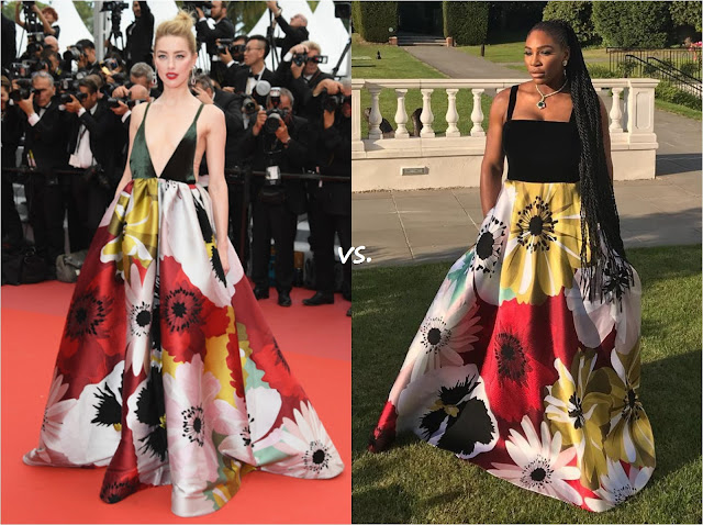 👗 Amber Heard vs Serena Williams
