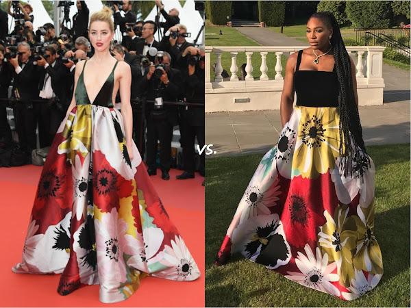 👗 Amber Heard vs Serena Williams