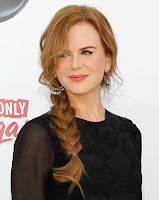 Nicole Kidman pretty side braid