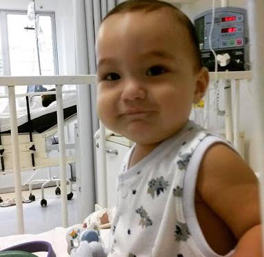 Delmiro Gouveia:  Matheus trava uma batalha contra a leucemia e necessita de 10 transfusões sanguíneas diárias.