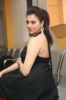 Priyanka in Sleeveless Black Slim Dress Spicy Pics ~  Exclusive 22.JPG