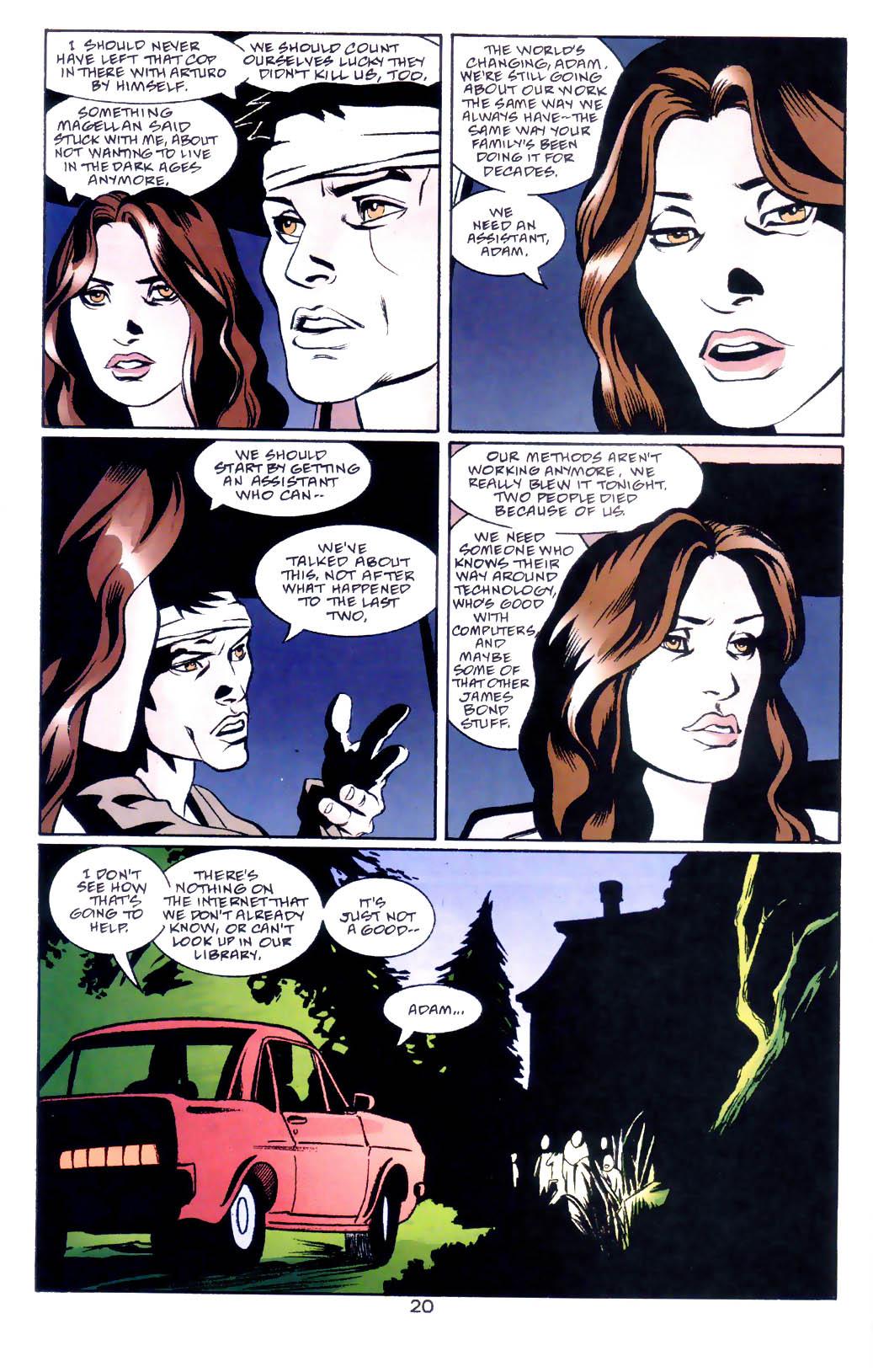 Read online Midnight, Mass comic -  Issue #3 - 21