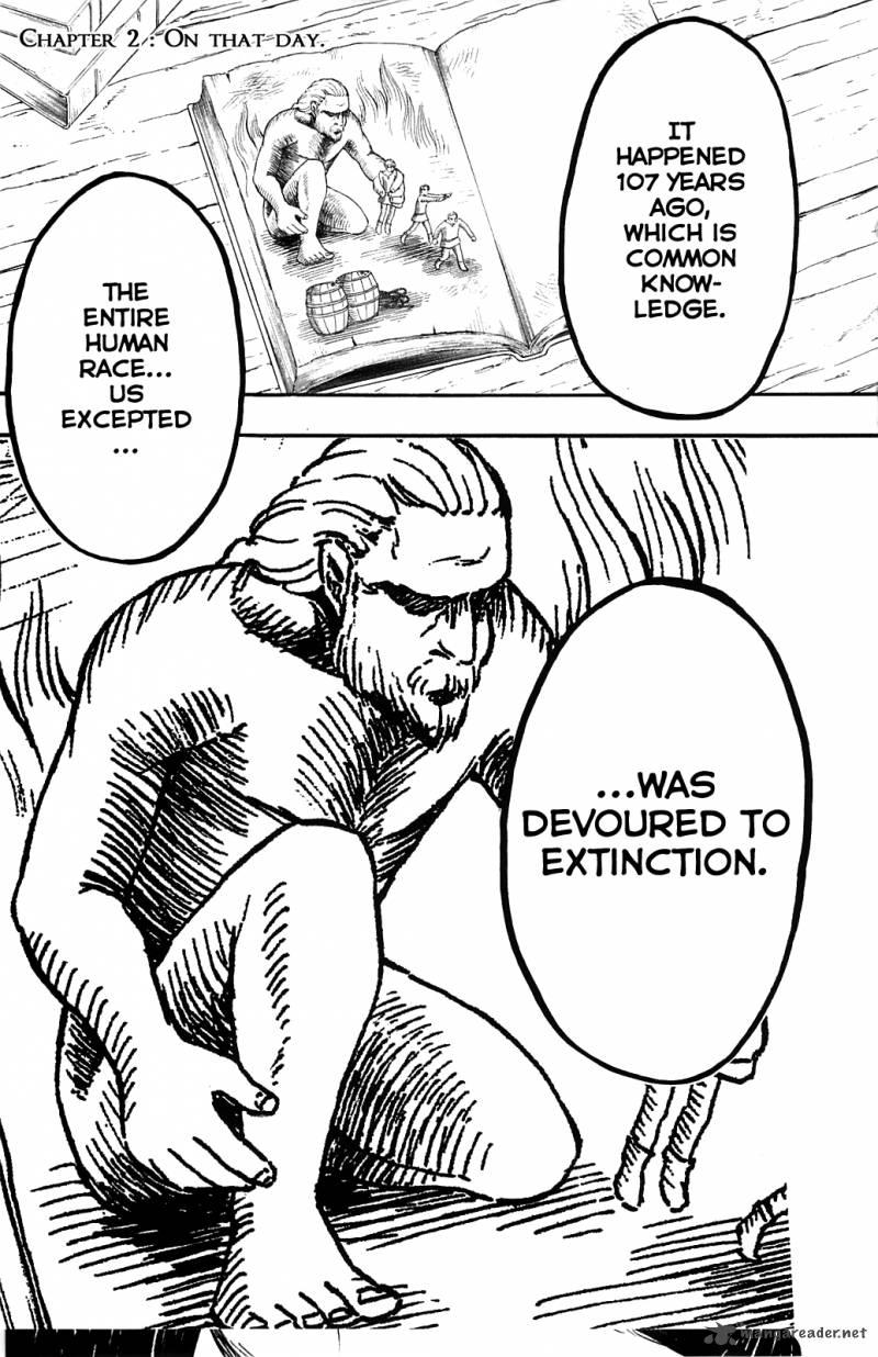 Shingeki no Kyojin Ch 2: On That Day