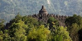 Liburan ke candi Borobudur